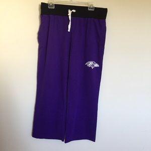 NFL Baltimore ravens women's pajama/lounge pants